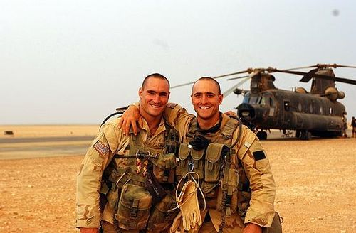 army rangers in iraq. Army rangers (two in Iraq,